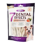 VEGEBRAND 7重高效 除口臭磨牙潔齒棒 狗小食 紐紋三文魚牛奶味 160g 狗小食 VEGEBRAND 寵物用品速遞