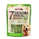 VEGEBRAND 7重高效 除口臭磨牙潔齒棒 狗小食 紐紋蔬菜味 160g 狗小食 VEGEBRAND 寵物用品速遞