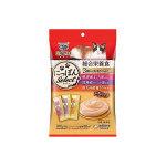日本unicharm 三星銀匙肉泥餐包 綜合營養 金槍魚+鰹魚+雞肉 108g (6g*18入) (粉紫橙) 貓小食 Unicharm 三星銀匙 寵物用品速遞