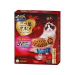 日本Unicharm 三星銀匙貓脆餅 維持腎臟健康 高齡貓用 240g (20g*12袋入) 貓小食 Unicharm 三星銀匙 寵物用品速遞