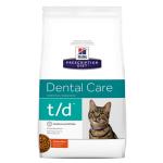 Hills Prescription Diet t/d 貓糧 牙醫護理配方 8.5lb (PEV10363HG) (8724) 貓糧 Hills 希爾思 寵物用品速遞