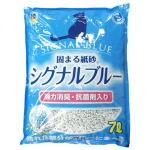 Super-Cat-紙貓砂-日本Super-Cat強力消臭抗菌紙砂-6_5L-藍-紙貓砂-寵物用品速遞