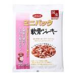 日本d.b.f 狗小食 迷你包裝 豬軟骨肉乾粒 犬用 100g (20g*5袋入) (粉紅) 狗小食 d.b.f 寵物用品速遞