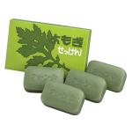 日本地の塩社 天然艾草 保濕滋潤肥皂番梘 1盒4件 生活用品超級市場 個人護理用品