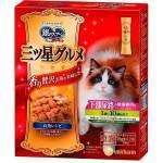 日本unicharm 三星銀匙貓脆餅 維持下部尿路健康 1歳至10歳 綜合魚味 240g 貓小食 Unicharm 三星銀匙 寵物用品速遞