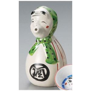 日本美濃燒 輕井沢 和食器 陶瓷酒具 火男2號 酒壺 酒品配件 Accessories 分酒瓶 清酒十四代獺祭專家