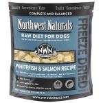 Northwest Naturals 無穀物凍乾脫水狗糧 白身魚+三文魚 12oz (NWFDWF) 狗糧 Northwest Naturals 寵物用品速遞