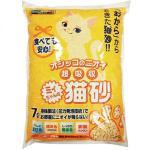 Mityan-豆腐貓砂-日本Mityan特強吸水玉米豆乳豆腐貓砂-黃雙孔-7L-豆腐貓砂-豆乳貓砂-寵物用品速遞