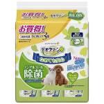 日本unicharm 寵物抹身除菌濕紙巾 60枚3包入 (貓犬用) 貓犬用清潔美容用品 皮膚毛髮護理 寵物用品速遞