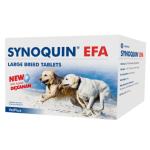 VetPlus Synoquin EFA L Over 狗隻關節補充劑 25kg 120片錠裝 狗狗保健用品 腸胃 關節保健 寵物用品速遞