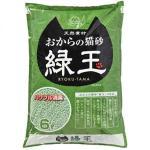 Hitachi-豆腐貓砂-日本Hitachi-RYOKU-TAMA-綠玉綠茶豆腐貓砂-6L-豆腐貓砂-豆乳貓砂-寵物用品速遞