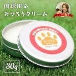 日本國產 貓犬寵物肉球護理 天然蜂蠟爪子膏 30g 貓犬用清潔美容用品 皮膚毛髮護理 寵物用品速遞