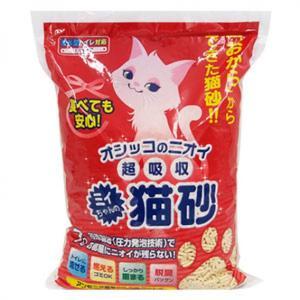 Mityan-豆腐貓砂-日本Mityan特強吸水玉米豆乳豆腐貓砂-紅單孔-7L-豆腐貓砂-豆乳貓砂-寵物用品速遞