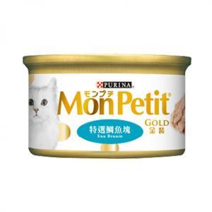 MonPetit-金裝系列-金裝特選鯛魚塊-85g-肉凍系列-湖水綠-NE11638001-MonPetit-寵物用品速遞