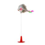 搖擺老鼠羽毛吸盤貓咪玩具 貓咪玩具 其他 寵物用品速遞