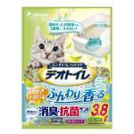 unicharm消臭大師-矽膠貓砂-日本unicharm消臭大師消臭抗菌沸石矽膠貓砂-田園花香味-3_8L-水晶貓砂-矽膠貓砂-寵物用品速遞
