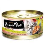 Fussie-Cat高竇貓-純天然貓罐頭-黑鑽-吞拿魚-虎蝦-Tuna-with-Prawn-80g-淺粉橙-FU-ORC-Fussie-Cat-高竇貓-寵物用品速遞