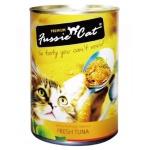 Fussie Cat高竇貓 純天然貓罐頭 呑拿魚 Fresh Tuna 400g (橙黃) (FU-4TUC) 貓罐頭 貓濕糧 Fussie Cat 高竇貓 寵物用品速遞