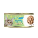 My baby 貓罐頭 角切吞拿魚 Deced Tuna 85g (90401392B) 貓罐頭 貓濕糧 My baby 寵物用品速遞