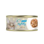 My baby 貓罐頭 鰹魚塊 Bonito 85g (黃) (90401390B) 貓罐頭 貓濕糧 My baby 寵物用品速遞
