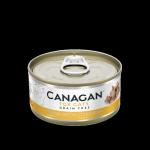 CANAGAN原之選 無穀物貓罐頭 吞拿魚及雞肉 Tuna with Chicken 75g (黃) 貓罐頭 貓濕糧 CANAGAN 原之選 寵物用品速遞