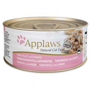 Applaws-天然優質貓罐頭-吞拿魚及蝦-Tuna-with-Prawn-156g-淺粉紅-2008-Applaws-寵物用品速遞