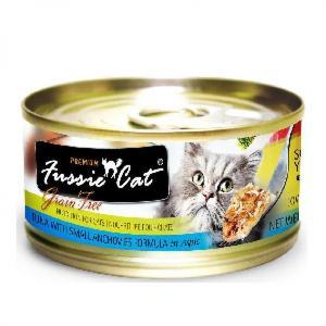 Fussie-Cat高竇貓-純天然貓罐頭-黑鑽-吞拿魚-白魚-Tuna-with-Small-Anchovies-80g-藍-FU-SLC-Fussie-Cat-高竇貓-寵物用品速遞