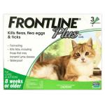 FRONTLINE Plus for Cats & Kittens 貓用殺蝨滴 (FPCAT) 貓咪保健用品 杜蟲殺蚤用品 寵物用品速遞