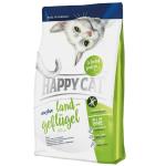 Happy Cat Sensitive 成貓雞肉無麩質配方貓糧 Land-Geflügel 4kg (70253) 貓糧 Happy Cat 寵物用品速遞