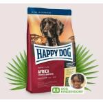 Happy Dog Supreme Sensible 成犬非洲鴕鳥肉無縠物配方 Africa 4kg 狗糧 Happy Dog 寵物用品速遞