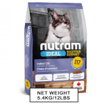 nutram紐頓-nutram-IDEAL紐頓-室內控制掉毛配方貓糧-I17-5_4kg-Nutram-紐頓-寵物用品速遞