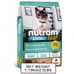 nutram紐頓-nutram-IDEAL紐頓-敏感腸胃及皮膚配方貓糧-I19-1_13kg-Nutram-紐頓-寵物用品速遞