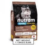 nutram紐頓-無薯無穀糧全貓糧-雞及火雞-Turkey-Chicken-T22-5_4kg-Nutram-紐頓-寵物用品速遞