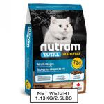 nutram紐頓-無薯無穀糧全貓糧-三文魚及鱒魚-Salmon-Trout-T24-5_4kg-NT-T24-5K-Nutram-紐頓-寵物用品速遞