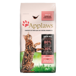 Applaws 成貓糧 雞肉三文魚配方 Adult Chicken with Extra Salmon 7.5kg (4073) 貓糧 Applaws 寵物用品速遞