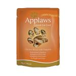 Applaws Cat Pouch 貓濕糧 雞胸及南瓜 Chicken with Pumpkin 70g (橙) (8001) 貓罐頭 貓濕糧 Applaws 寵物用品速遞
