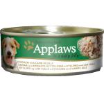 Applaws 啫喱狗罐頭 雞柳及羊肉 Chicken With Lamb 156g (3122) 狗罐頭 狗濕糧 Applaws 寵物用品速遞