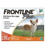 狗狗清潔美容用品-FRONTLINE-Plus-for-Dogs-狗用殺蝨滴-小型犬專用-皮膚毛髮護理-寵物用品速遞