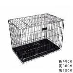 小型寵物籠 顏色隨機 (貓犬用) (L50cm*W32cm*H38cm) 貓犬用日常用品 寵物籠 寵物用品速遞