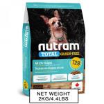 nutram紐頓-狗糧-無薯無穀糧小型犬-三文魚鱒魚-Salmon-Trout-T28-2kg-nutram-紐頓-寵物用品速遞
