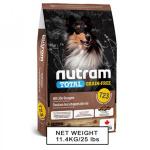 nutram紐頓-狗糧-無薯無穀糧大型犬-雞肉火雞-Turkey-Chicken-Duck-T23-11_4kg-nutram-紐頓-寵物用品速遞