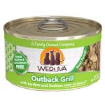 WeRuVa 主食貓罐頭 野生澳洲鰺魚及金目鱸魚 Outback Grill 85g (青綠) (001060) 貓罐頭 貓濕糧 WeRuVa 寵物用品速遞