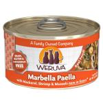 WeRuVa 主食貓罐頭 野生鯖魚海蝦及魷魚青口 Marbella Paella 85g (橙) (001061) 貓罐頭 貓濕糧 WeRuVa 寵物用品速遞
