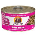 WeRuVa 主食貓罐頭 野生吞拿魚及日式白飯魚 Asian Fusion 85g (桃紅) (001062) 貓罐頭 貓濕糧 WeRuVa 寵物用品速遞