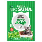 NEO-SUNA-紙貓砂-日本NEO-SUNA綠茶葉紙砂-6L-綠色-紙貓砂-寵物用品速遞