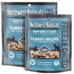 Northwest Naturals 無穀物凍乾脫水貓糧 火雞 TURKEY DIET FOR CATS 11oz (NWFFD11TUR) 貓糧 Northwest Naturals 寵物用品速遞
