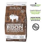 PetKind-無穀物狗糧-野牛草胃配方-Green-Tripe-Bison-25lb-PetKind-寵物用品速遞