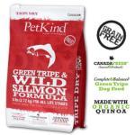 PetKind-無穀物狗糧-有機藜麥三文魚皮膚敏感配方-Green-Tripe-Wild-Salmon-25lb-1-700-PetKind-寵物用品速遞