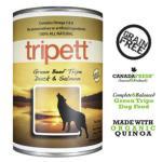 PetKind-Tripett-狗罐頭-無穀物牛草胃-鴨三文魚配方-Beef-Tripe-Duck-Salmon-14oz-PetKind-寵物用品速遞