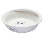 日本直送 NYANTA CLUB 貓貓陶瓷糧食碗 CT-274 貓咪日常用品 飲食用具 寵物用品速遞